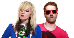 The Ting Tings Image Slider