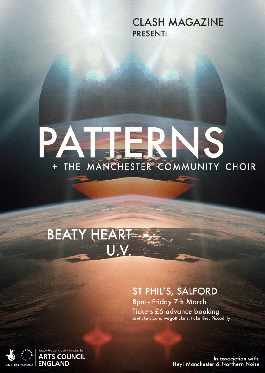 Northern Noise Live Poster Feat. Patterns