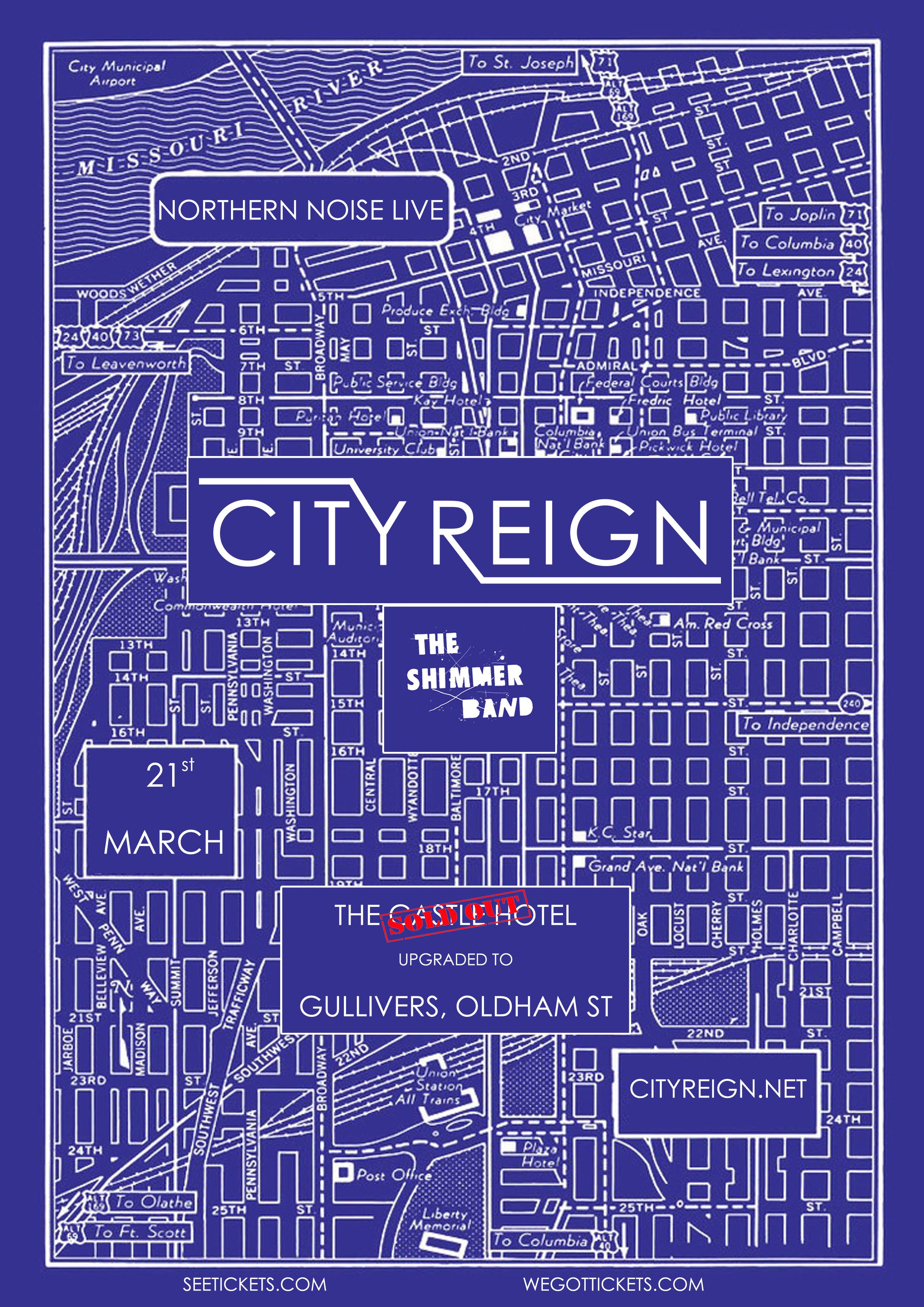 Northern Noise Live Poster Feat. City Reign