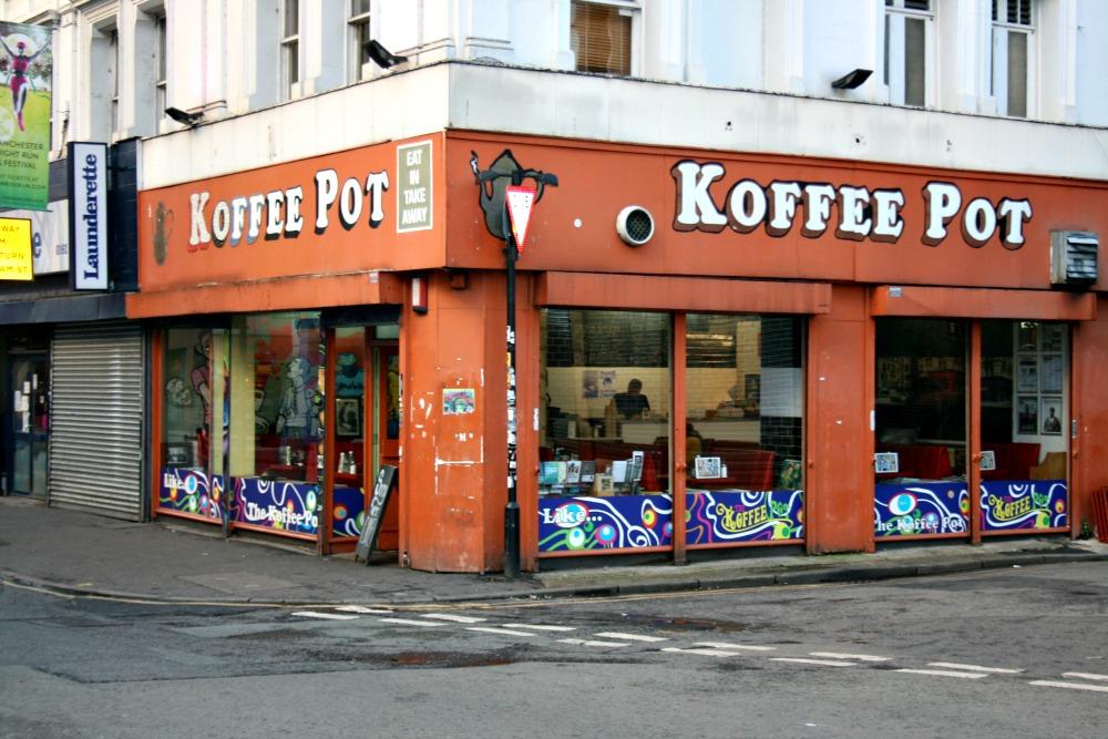 Resultado de imagen de Koffee Pot Manchester.